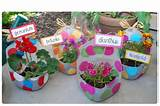 garden container plastic bottle recycled garden cute ideas jug