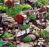 fairy garden or fairy village to be seen on south buffalo garden