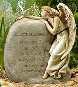 angel memorial garden stone design angel memorial garden stone design