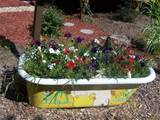From bath tub to garden tub this creative gardener has created a ...