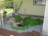 gartengestaltung-guenstig-idee-teich-steine-bodendecker-farnen