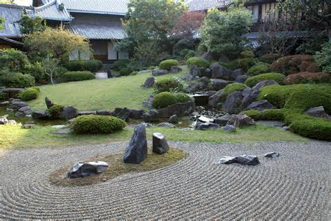 Shitennō-ji Honbō garden