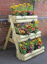 multi tier wooden garden planter garden site
