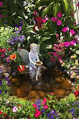 fairy pond fairy garden pinterest