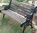 DIY - How to Restore a Cast Iron and Wood Garden Bench | Garden ...