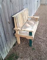 Pallets Made Chair Bench – Pallets Ideas, Designs, DIY.