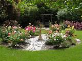 Backyard Rose Garden | my outdoors | Pinterest