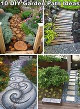10 Unique and Creative DIY Garden Path Ideas | DIY Cozy Home