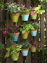 ... the simple metal pots. This would work great on a small deck. Source