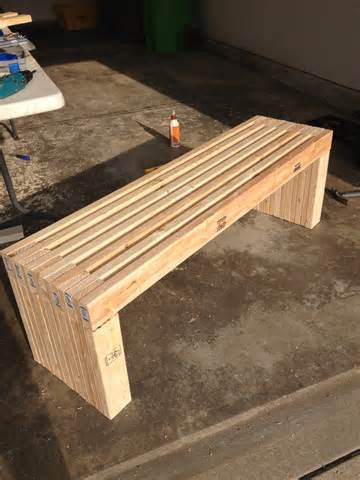 Outdoor Wooden Bench Plans | Free Outdoor Plans - DIY Shed, Wooden ...