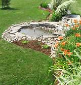 pond ideas together going to extend it out to the fairy garden this