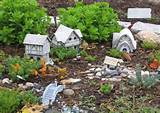 unique outside home decoration with fairy garden ideas landscaping for