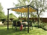 Make Your Own Outdoor Canopy! | outdoortheme.com