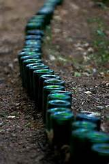 bottles lawn edging border edging garden edging jpg
