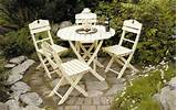 english garden patio