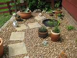 Nice Cactus Small Front Garden