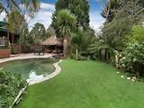Tropical garden design using bamboo with gazebo & outdoor furniture ...