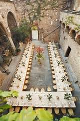 garden party table set up idea wow garden parties pinterest