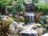Garden Waterfall Designs | Beauty Garden Wallpapers
