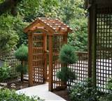 Garden Entrance Arbor Ideas | Pergola Gazebos
