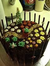 flower garden cake birthday cakes pinterest