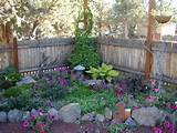Corner shade garden in its second spring, 2007 – the Petunias are ...