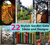 22 Stylish Garden Gate Ideas and Designs | DIY Cozy Home World - Home ...
