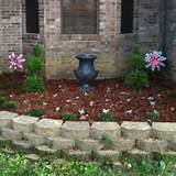 my flower bed in front of my house lake house pinterest