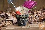 Wrapped in garden twine, the DIY garden kit is a perfect addition to ...