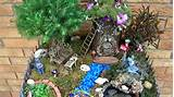 fairy garden with pond and waterfall 2014 miniature fairies youtube
