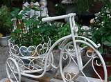 Gardening Flower Pots Decoration Ideas With Bicycle