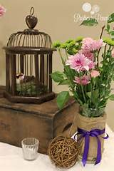 Secret Garden Shower - app table decor