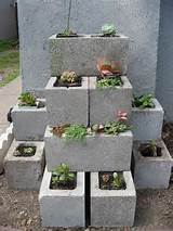 blocks garden diy gardening diy ideas diy crafts do it yourself