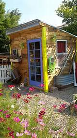 Hometalk | Junk Garden Tour With Shed