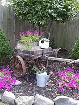 country garden rustic gardens pinterest