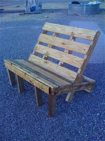 america furniture indoor and outdoor pallet bench sitting area