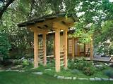 ... looking archway brings home the Japanese garden atmosphere with ease