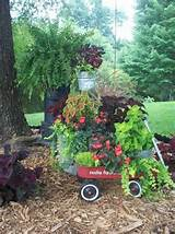 repurposed junk garden, gardening, repurposing upcycling, Radio flyer ...