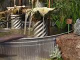 rancher fountain outdoor ideas pinterest