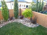 Dress up the corner of your yard with small trees/shrubs. | !Backyard ...