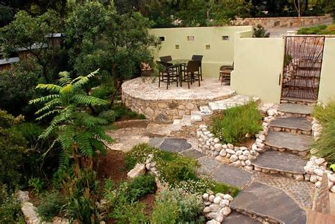 backyard patio decorating ideas in small yard landscape designs Modern ...