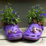 ... to Recycle Shoes for Planters, Cheap Decorations and Backyard Ideas