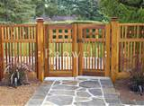 fence craft of upland redwood styles