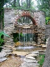 natural water garden waterfall a water garden waterfall