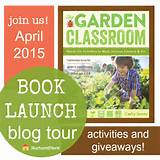 The Garden Classroom book tour