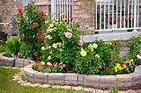kamienne murki w ogrodzie zdj cia pomys y na ogrodowe murki z