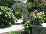display garden, stone work, stone arch, stone walls, masonry, masonry ...