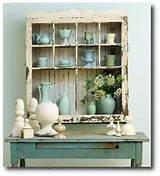 Pastel Painted Potting Bench From Better Homes and Gardens Magazine ...