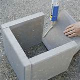 diy modern concrete planter curbly diy design community