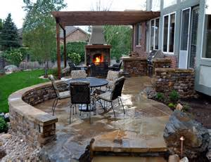 entry was posted in Outdoor designs and tagged Stone patio designs ...